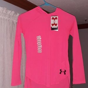 Nwt youth under armour heatgear lightweight hoody